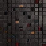mosaico ferro 30x30 cm lappato