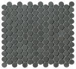 fap ceramiche boston, argilla mosaico round 29,5 x 32,5 cm