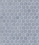 fap ceramiche color line, silver avio round mosaico 30,5 x 30,5 cm