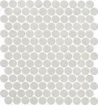 fap ceramiche color now, perla round mosaico 29,5 x 32,5 cm