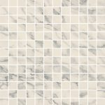 Caesar anima select, bianco arabesco Composizione F 30 x 30 cm decor lucidato