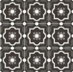 sant'agostino patchwork, black&white 04 20 x 20 cm
