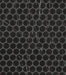 fap ceramiche roma diamond, nero reale round mosaico 29,5 x 32,5 cm fényes