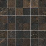 sant'agostino oxidart, black mosaico 30 x 30 cm natur