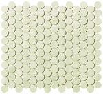 fap ceramiche boston, sabbia mosaico round 29,5 x 32,5 cm