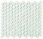 fap ceramiche boston, gesso mosaico round 29,5 x 32,5 cm