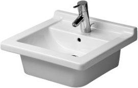 Duravit Starck 3 beépíthető mosdó, 48 cm 030348 00 22