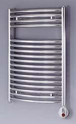Zehnder Janda radiátor krómozott, elektromos NOVAR
