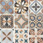 sant'agostino patchwork, colors mix 20 x 20 cm